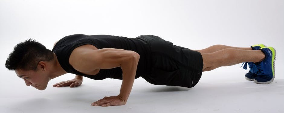 Plank exercises are great for the core muscles!