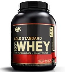 OPTIMUM NUTRITION GOLD 100% WHEY PROTEIN REVIEW