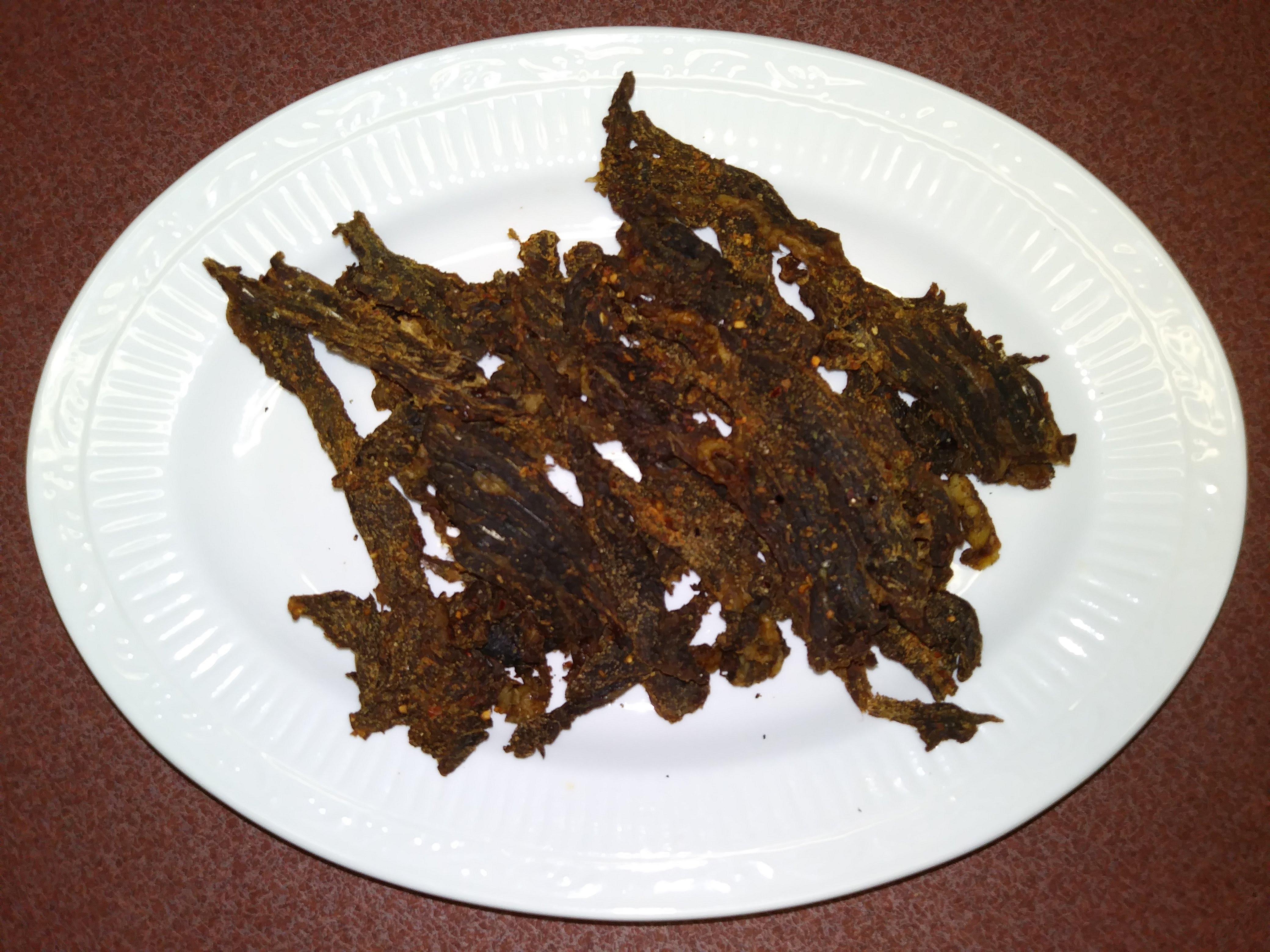 Devara's Kicken Hot Spicy Beef Jerky