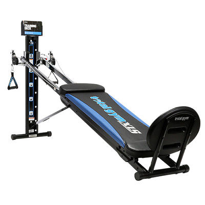 Image taken from eBay: https://www.ebay.com/itm/Total-Gym-XLS-Limited-Time-Offer/392063448994?epid=79660770&hash=item5b48cd77a2%3Ag%3AlD0AAOSwL4lbIBzz&_sacat=0&_nkw=total+gym+slx&_from=R40&rt=nc&_trksid=p2334524.m570.l1313.TR6.TRC1.A0.H0.Xtotal+gym+slx.TRS0.TSS0&LH_TitleDesc=0%7C0