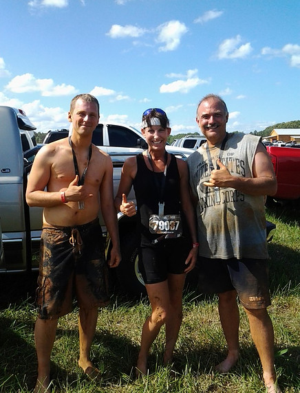 After a Mud Run event in NC