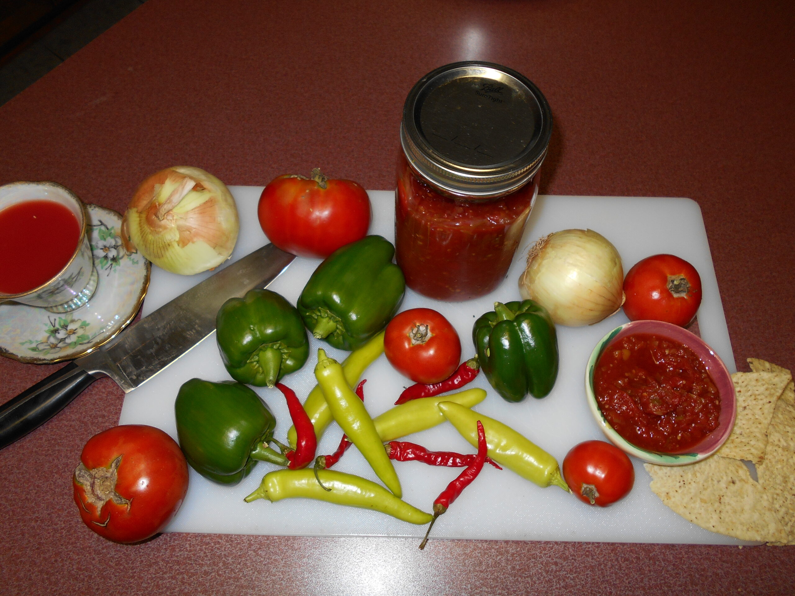 Best Salsa From Fresh Tomatoes!