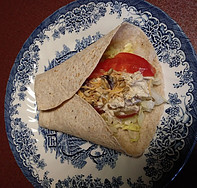 Best Homemade Chicken Salad Wrap