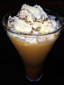 Pumpkin Smoothie with Almond Milk