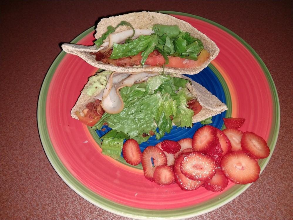 California Turkey Pita - Day 4 Lunch