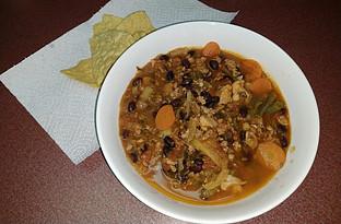 Southwest Chili - Day 4 Dinner
