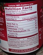 Cranberry Juice Label