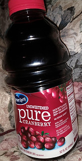 Unsweetened Pure Cranberry Juice