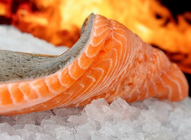 Health Benefits from eating salmon