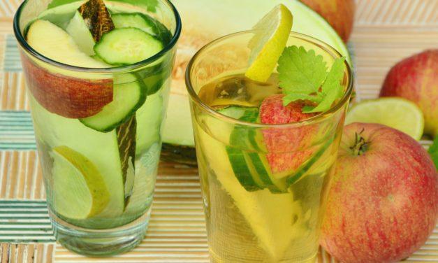 Lemon, Cucumber, & Ginger Detox