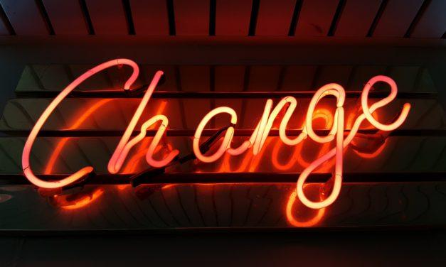 Habit Change: Beginning a new journey